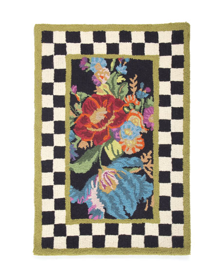 MacKenzie-Childs Flower Market Rug, 2' x 3'