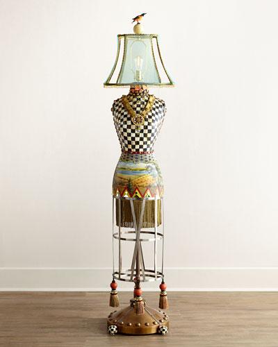 MacKenzie-Childs Dressmaker's Floor Lamp