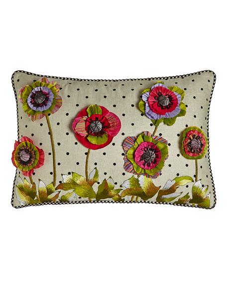 MacKenzie-Childs Cutting Garden Lumbar Pillow