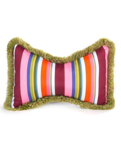 MacKenzie-Childs Flower Market Outdoor Butterfly Pillow