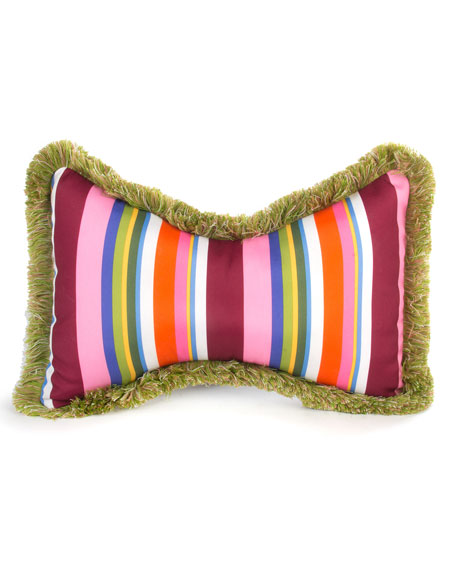 Flower Market Outdoor Butterfly Pillow