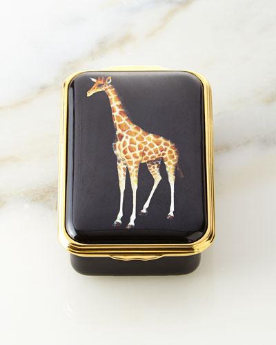 Giraffe Enamel Box