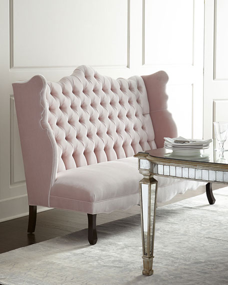 Haute House Tiffany Chair, Isabella Banquette, & Eliza