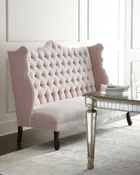Haute House Tiffany Chair, Isabella Banquette, & Eliza