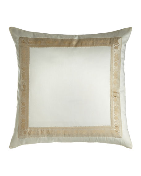 Nancy Koltes Garland Pillow, 22