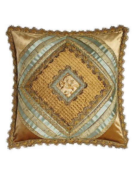 Sweet Dreams Palazzo Como Diamond-Center Pillow, 20