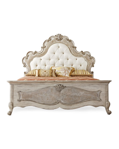 Hooker Furniture Estelline Queen Upholstered Panel Bed