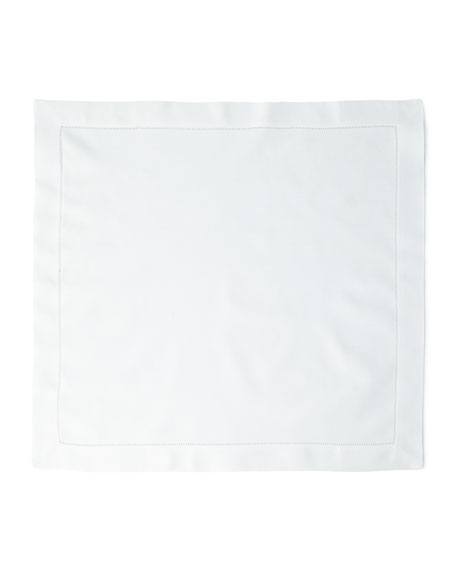 12 Hemstitch Dinner Napkins