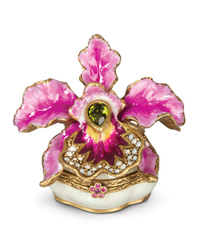 Jay Strongwater Orchid Box
