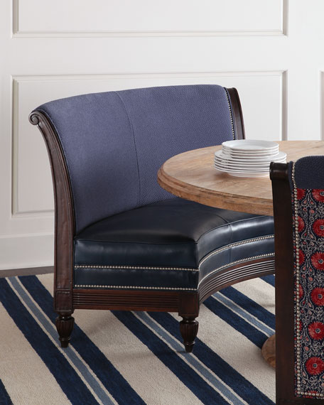 Massoud Noble Banquette & Arden Dining Table