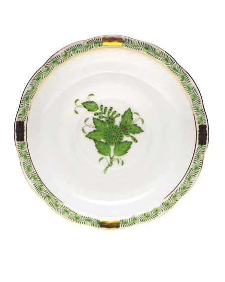 Green Chinese Bouquet Bread & Butter Plate