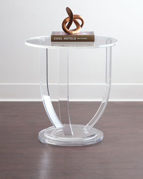 Tatum Acrylic Side Table