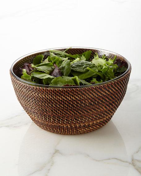 Calaisio Handwoven Salad Bowl