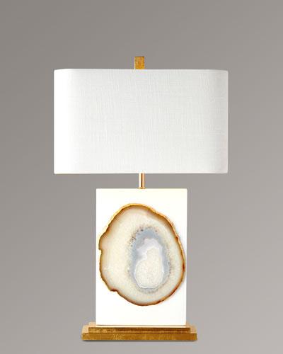 Neimanmarcus Bel Air Agate Table Lamp