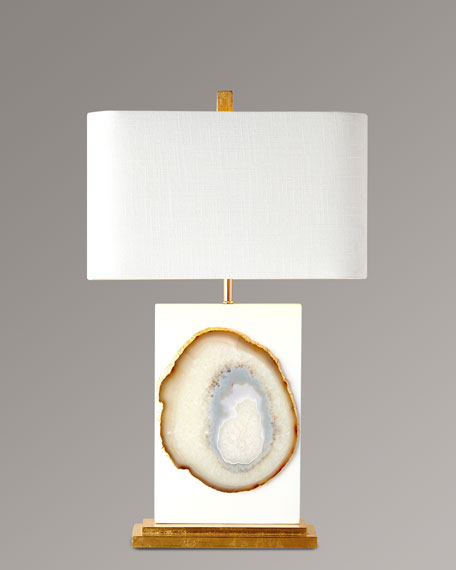 Neimanmarcus Bel Air Agate Table Lamp