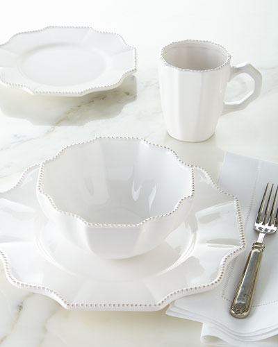 16-Piece Scallop Dinnerware Service