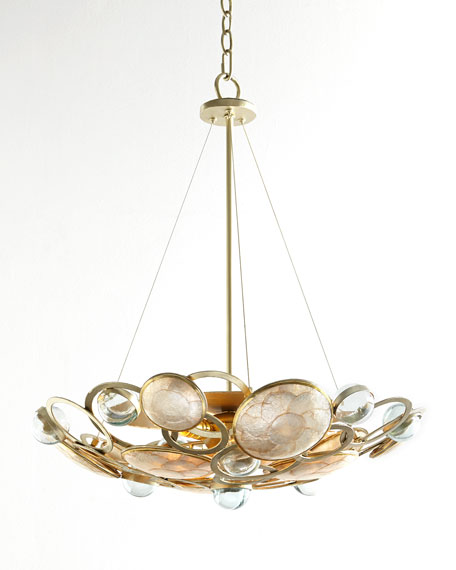 Janice Minor Glass Bubble 3-Light Pendant
