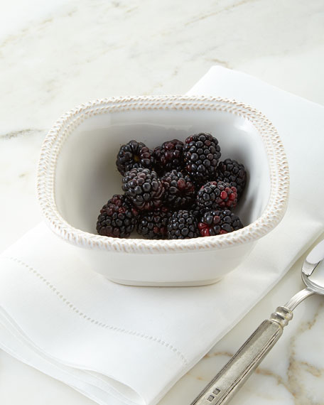 Juliska Le Panier Square Berry Bowl