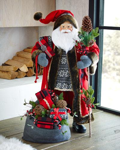 """Aspen Fantasy 36"""" Santa"""