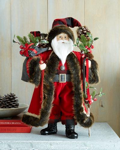 """Aspen Fantasy 18"""" Santa"""