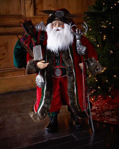 Scottish Highlands Santa