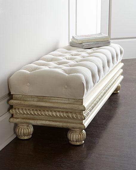 """Massoud Zalkin 38"""" Storage Bench"""
