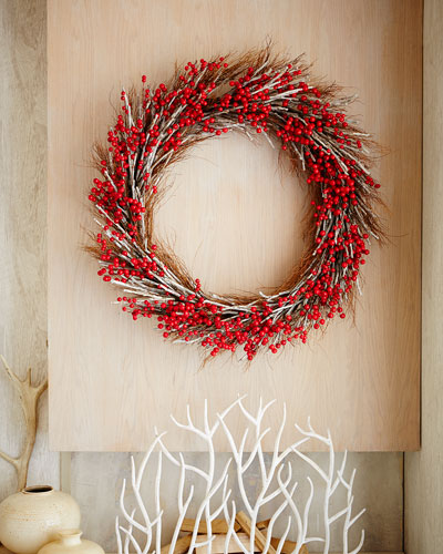 "Aspen Fantasy 50"" Christmas Wreath"