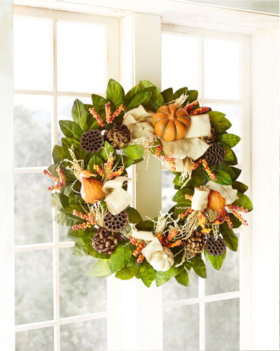 "Harvest  28"" Wreath"