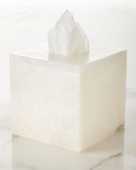 Kassatex Alabaster Tissue Box Cover