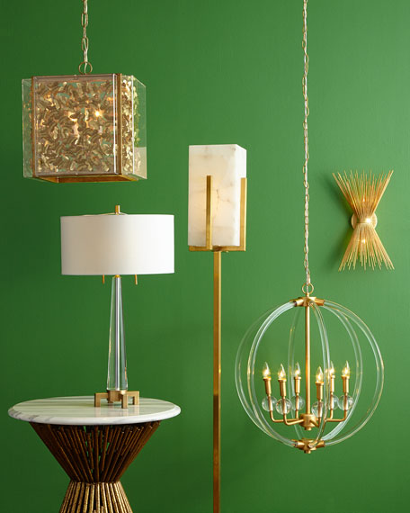 Acrylic 6-Light Pendant