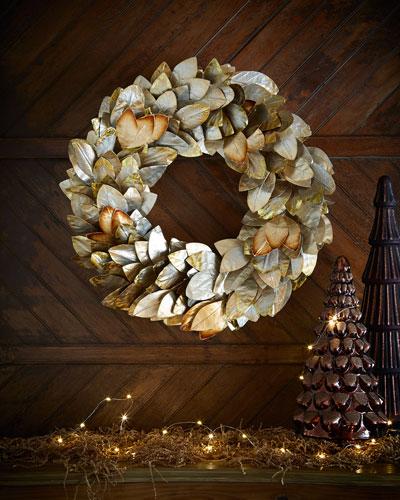 """Magnolia 28"""" Wreath"""