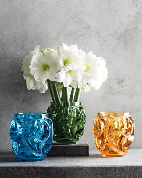 Tourbillons Limited Edition Blue Vase