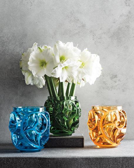 Tourbillons Amber Vase