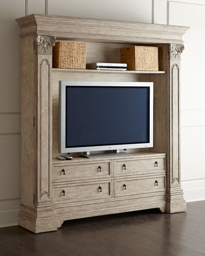 Brice Entertainment Center/Bookcase