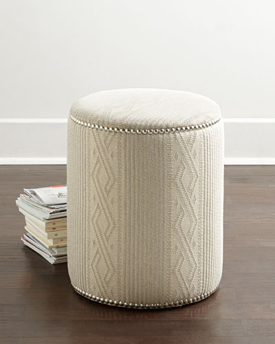 Diamond Ridge Ottoman