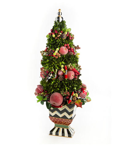 Courtly Christmas Tabletop Tree