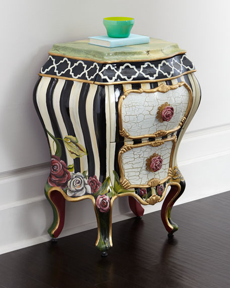 MacKenzie-Childs Botanica Bombe Chest