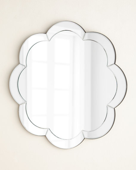 Eva Scalloped Wall Mirror