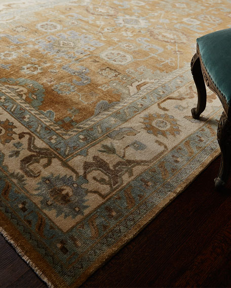 Exquisite Rugs Morning Light Oushak Rug & Matching