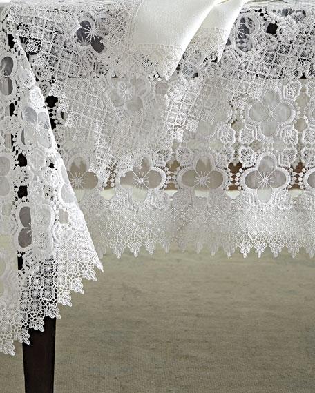 """Gia 72"""" x 108"""" Tablecloth & 12 Napkins"""