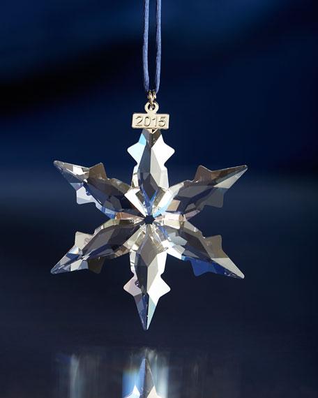 2015 Annual Snowflake Christmas Ornament