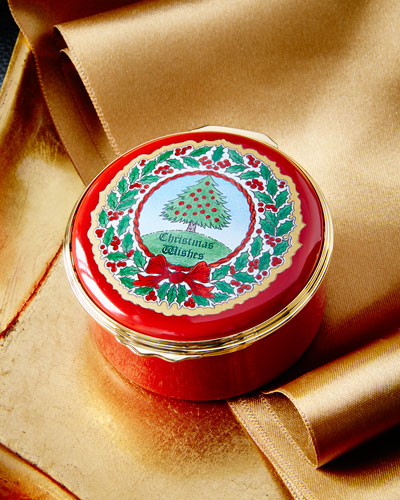 """Vintage Christmas Tree"" Music Box"