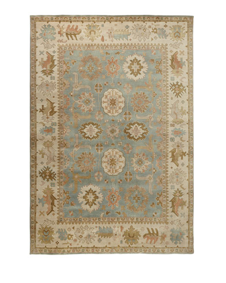Exquisite Rugs Lunden Oushak Rug, 9' x 12'