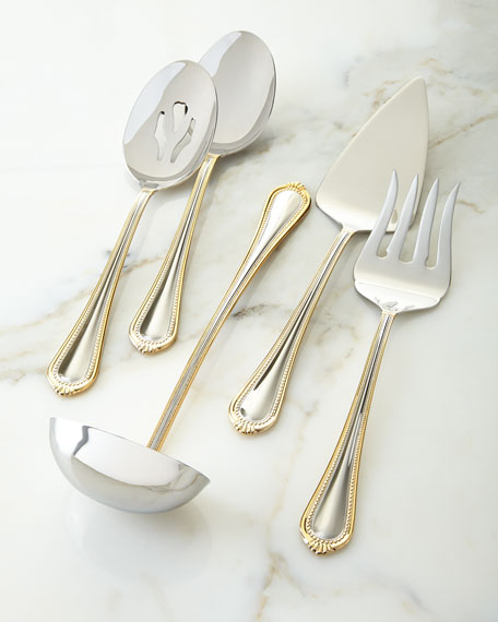 Mikasa5-Piece Gold Regent Bead Serving Set