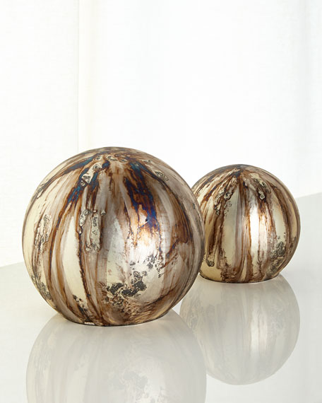 John-Richard Collection Moonlight Balls, 2-Piece Set