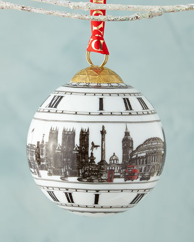 Big Ben London Christmas Ornament