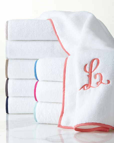 Signature Banded Hand Towel