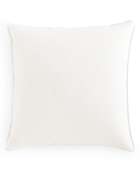 "European Mantra Down-Alternative Pillow, 26""Sq."