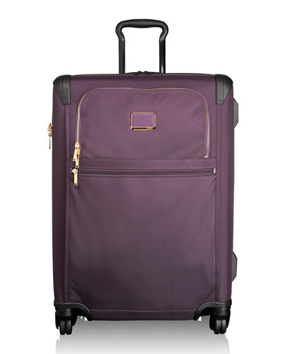 Alpha 2 Aubergine Short-Trip Expandable 4-Wheeled Packing Case
