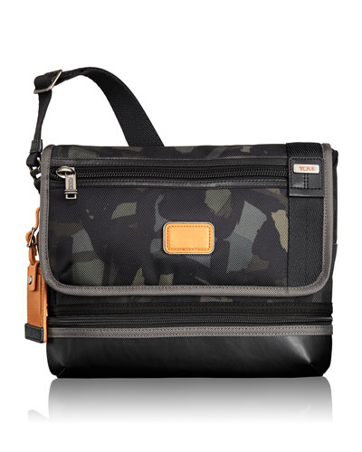 Alpha Bravo Gray/Camo Beale Crossbody